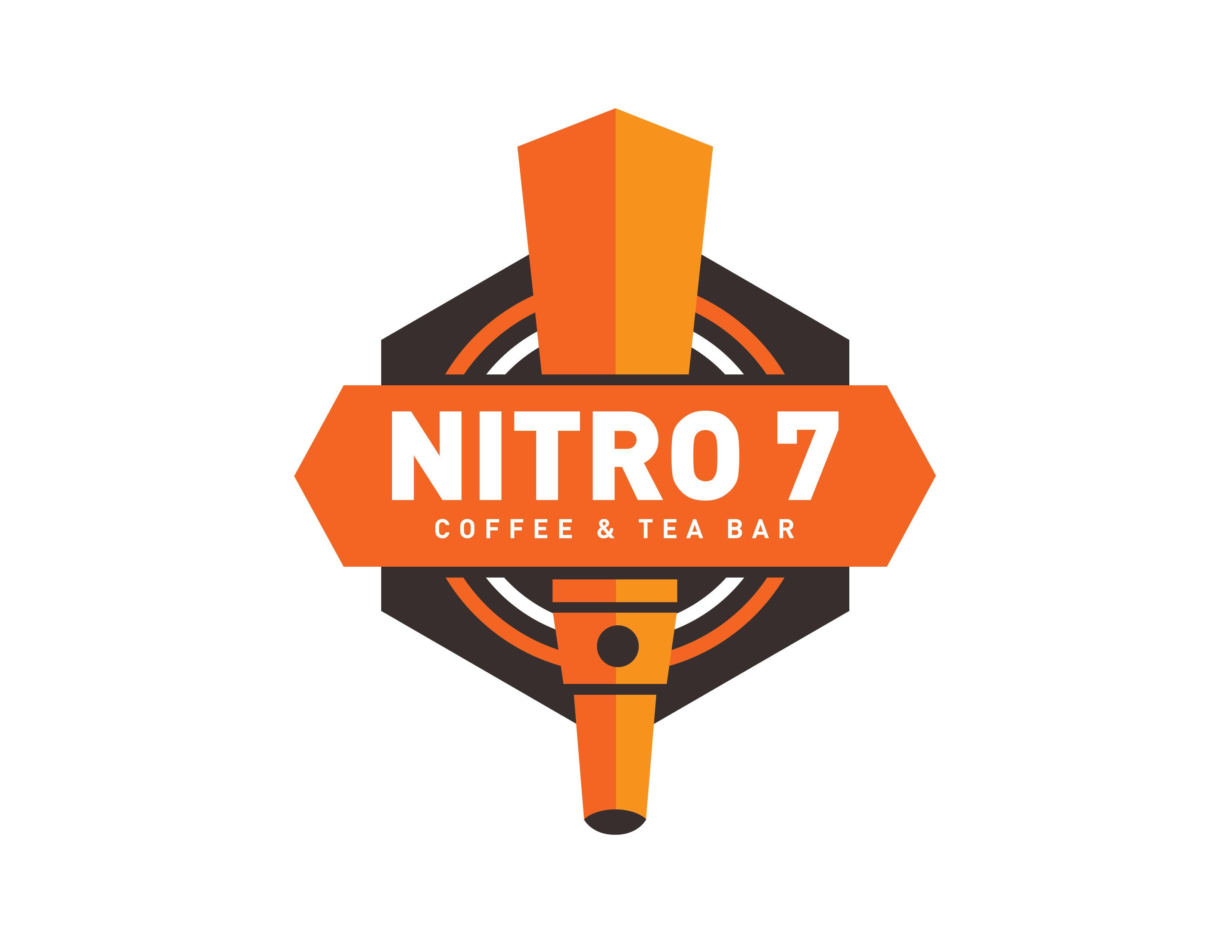 Nitro7 Coffee and Tea Bar brand logo
