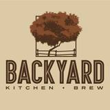 Backyard Kitchen + Brew brand logo