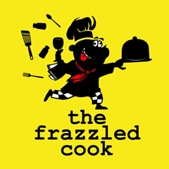 The Frazzled Cook brand logo