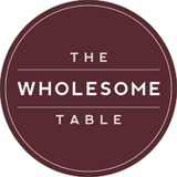 The Wholesome Table brand logo