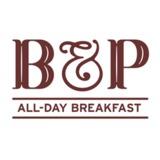 B and P brand logo