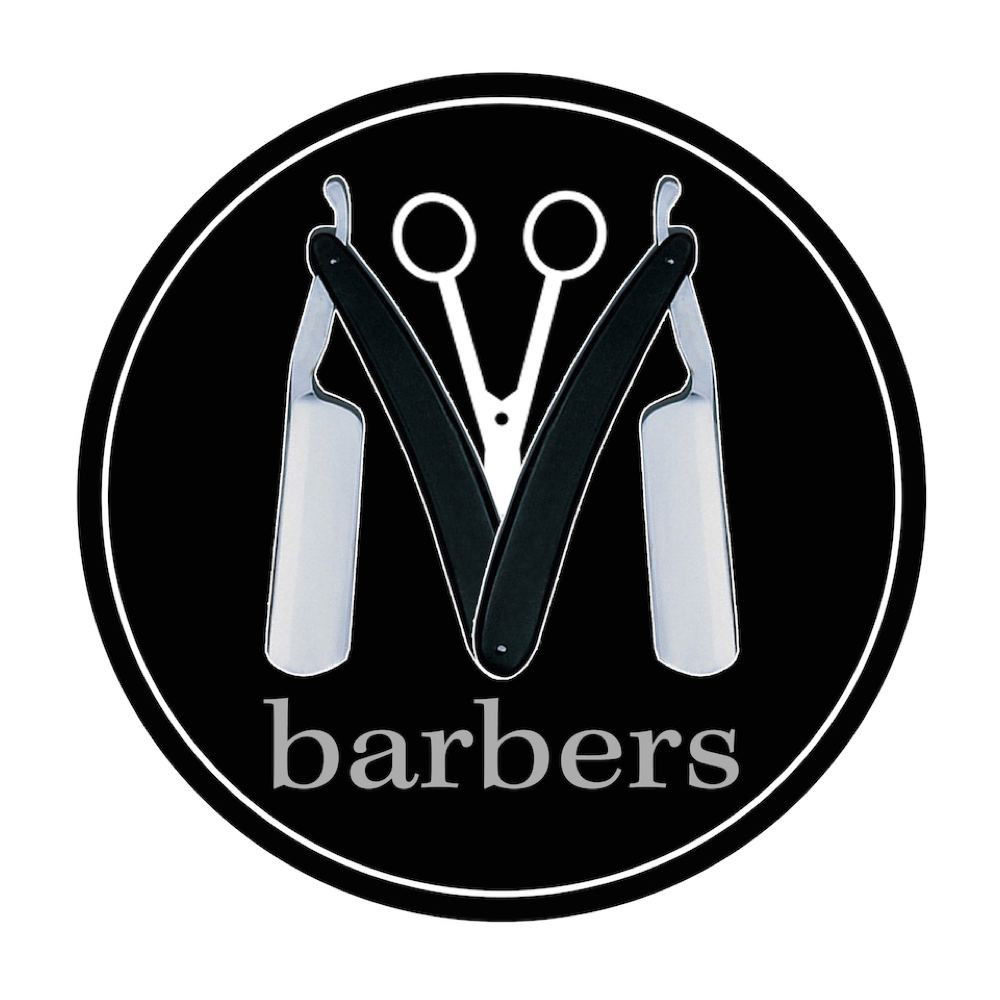 M Barbers brand logo