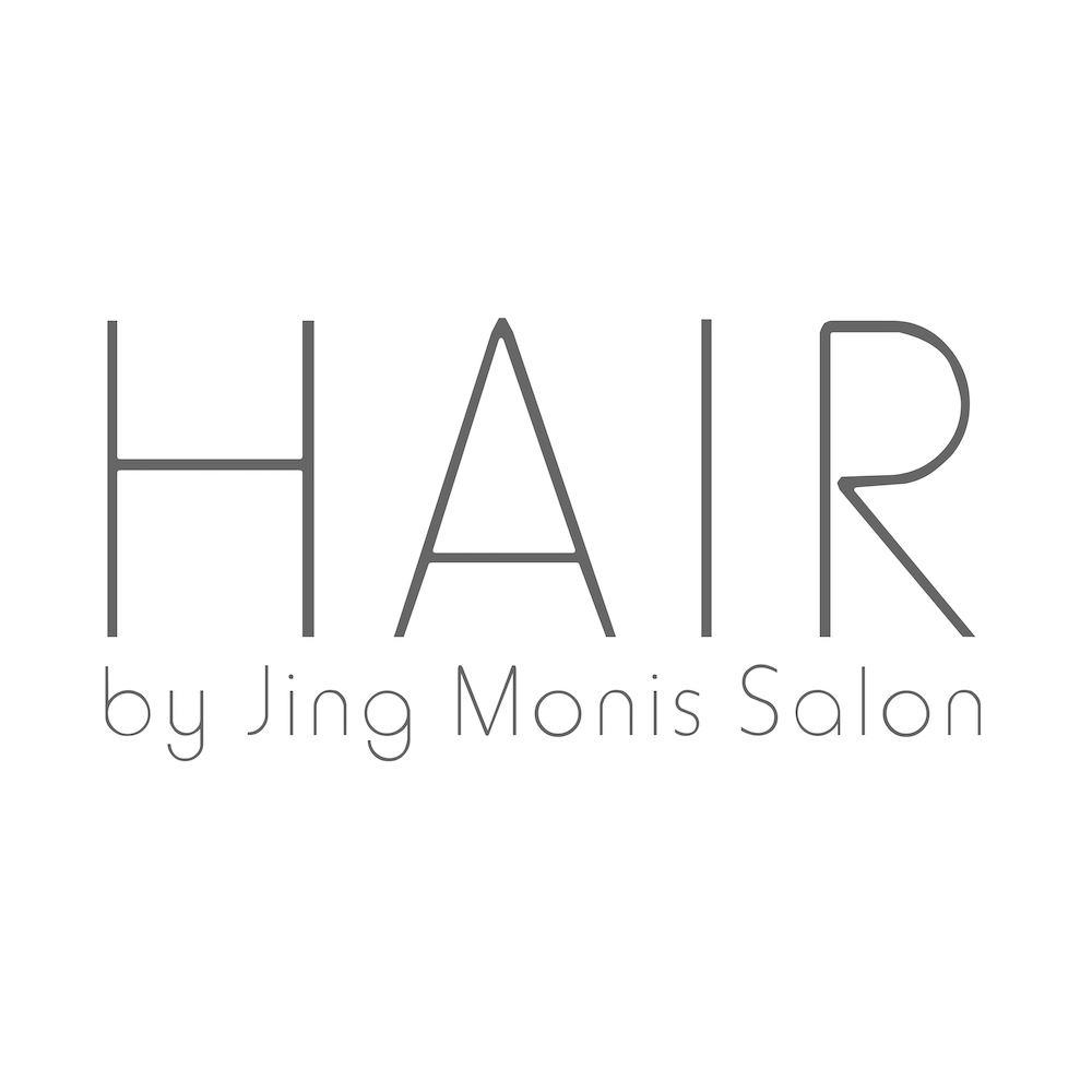 Hair by Jing Monis Salon brand logo