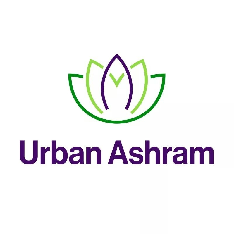 Urban Ashram Yoga brand logo