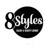 8Styles Salon and Beauty Lounge brand logo