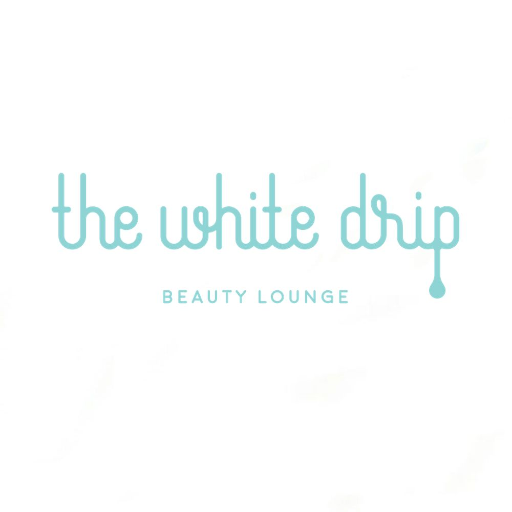 The White Drip Beauty Lounge brand logo