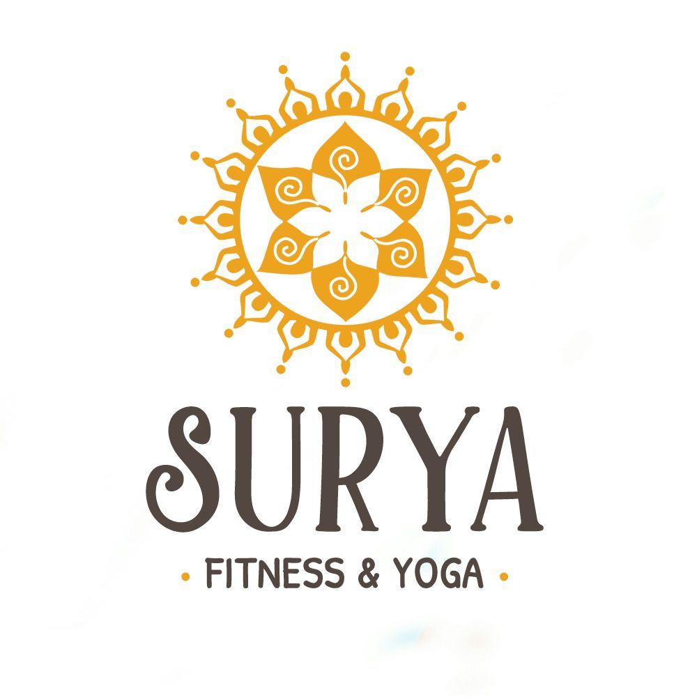 Surya Fitness & Yoga brand logo