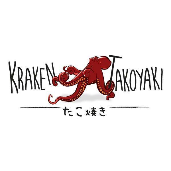 Kraken Takoyaki brand logo