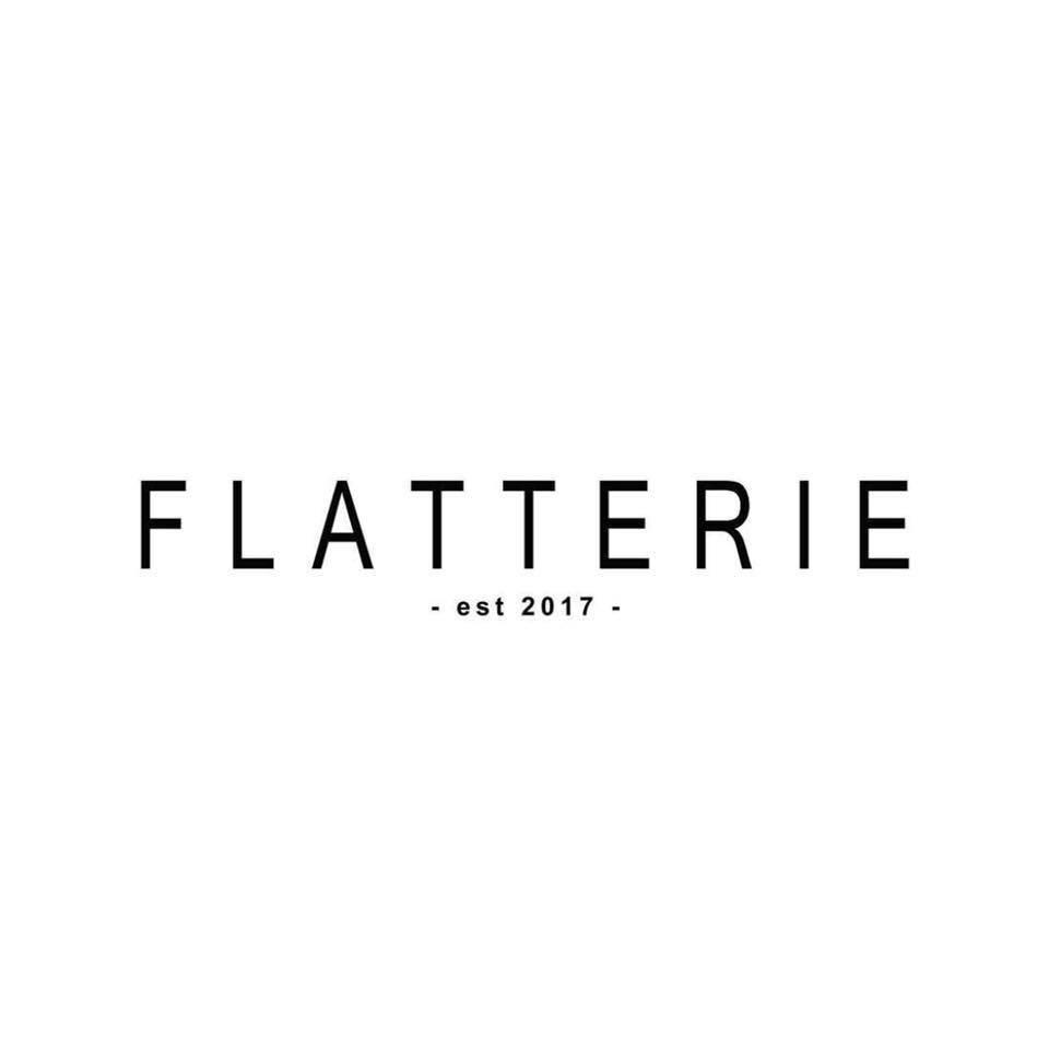 Flatterie brand logo