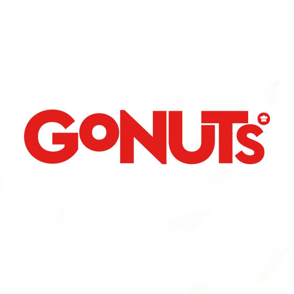 GoNuts Donuts brand logo
