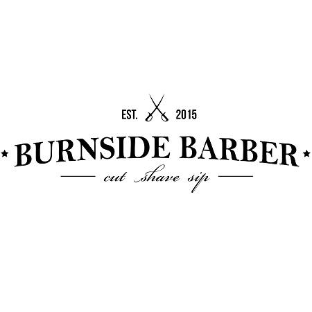 Burnside Barber brand logo