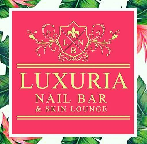 Luxuria Nail and Beauty Lounge brand logo