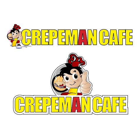 Crepeman Cafe brand logo