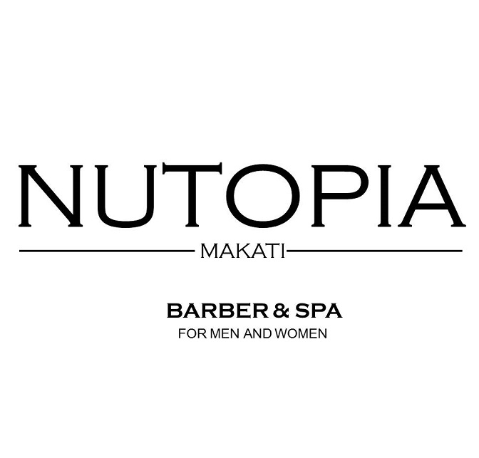 Nutopia Barber and Spa brand logo