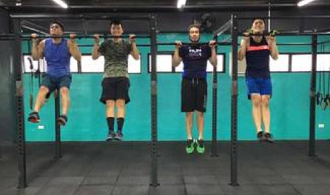 Three CrossFit Classes
