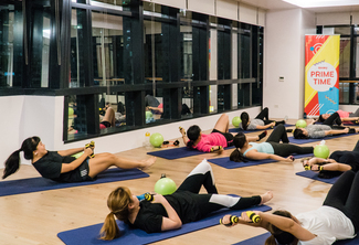 One STOTT Pilates Mat Group Class