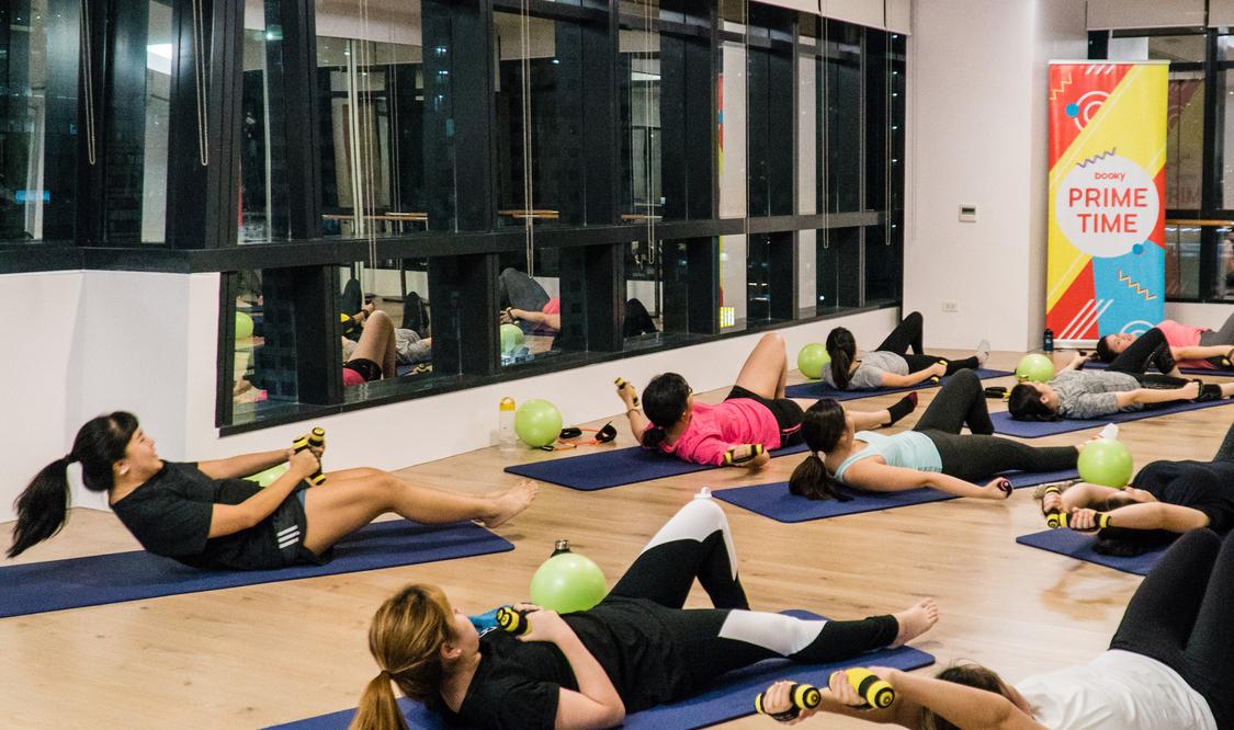 One STOTT Pilates Mat Group Class
