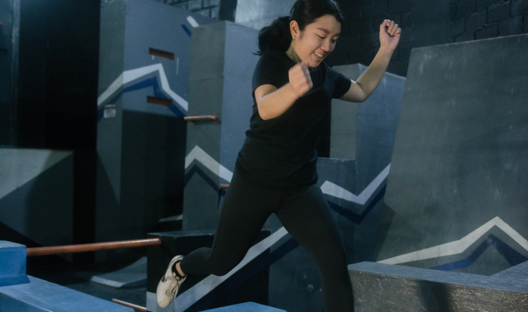 Six Private Parkour Coaching Sessions