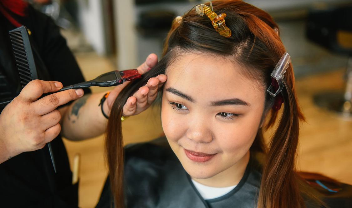 Haircut + Color + Argan Treatment