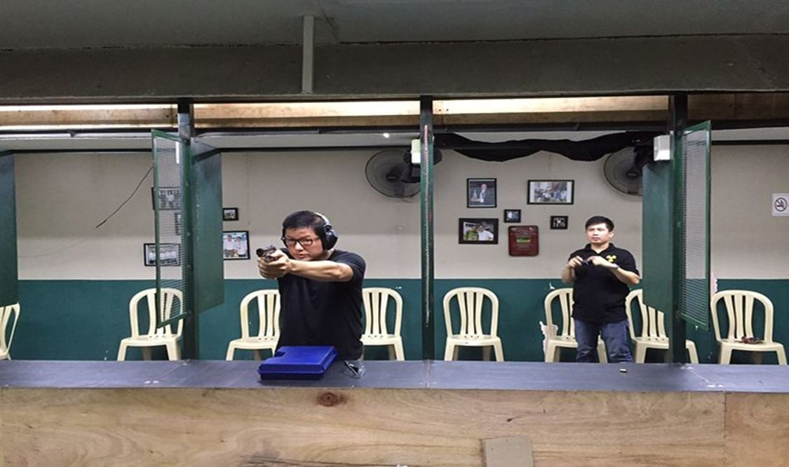 Indoor Target Shooting Session (inclusive of 50 bullets)