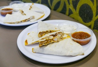 NEW 10-inch Chicken Quesadilla