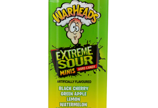 Warheads Mini Size Extreme Sour Hard Candy