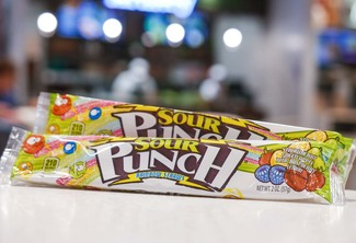 American Licorice Sour Punch Rainbow Straws