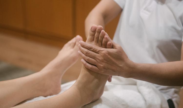 """Ingham Method"" Foot Massage"