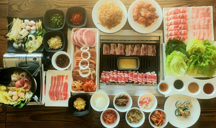 Unlimited Pork and Beef Samgyupsal