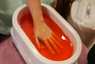 Powder Dip + Hand Paraffin