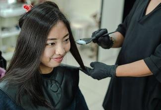 Hair Color (Medium Length)