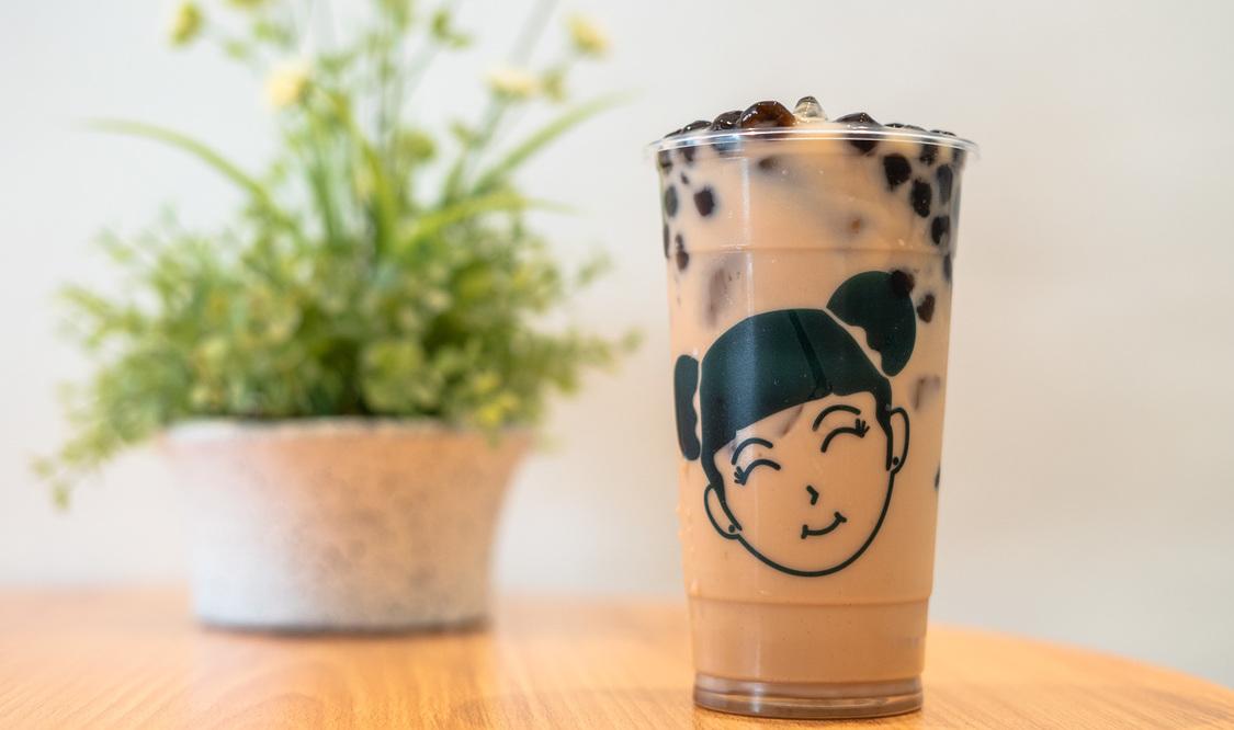 Large Pearl Milk Tea