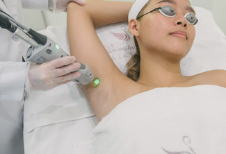 Laser Hair Removal (Underarms or Bikini Line)
