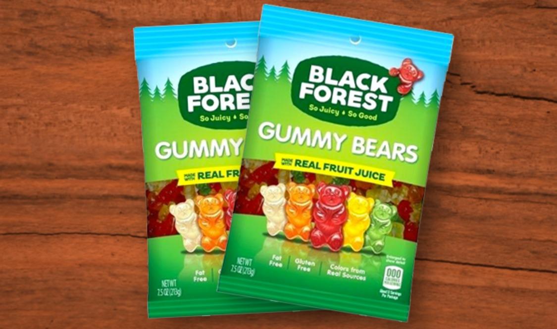 Black Forest Gummy Bears