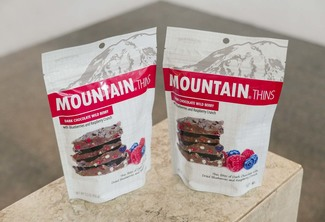 Mountain Thins Dark Chocolate Wild Berry