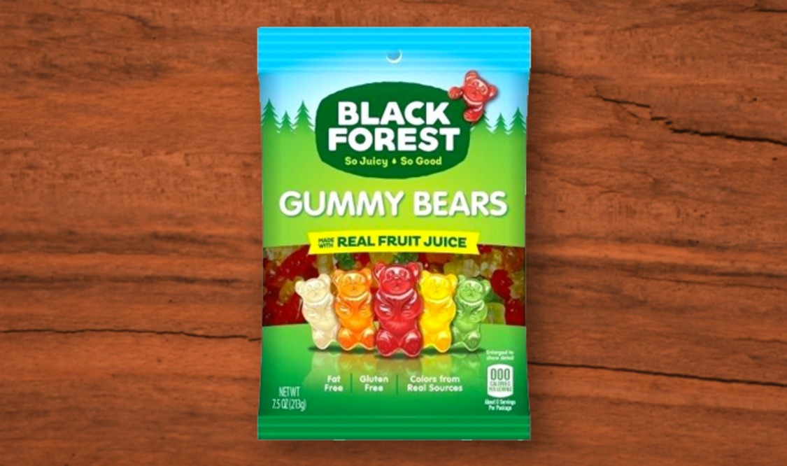Black Forest Gummy Bear