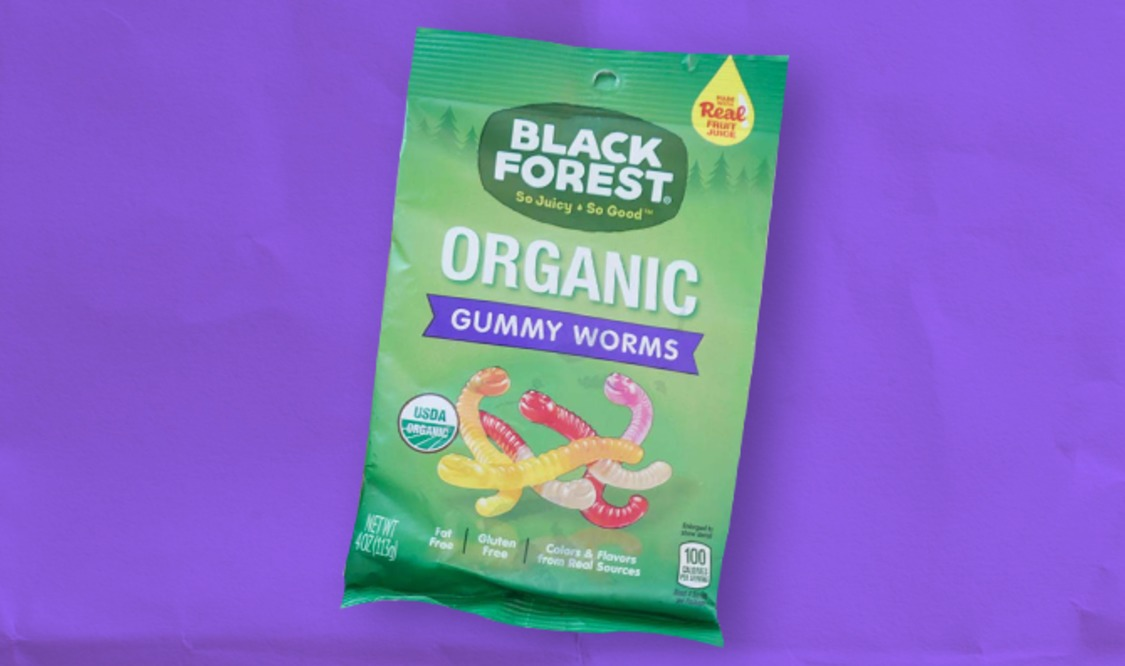 Black Forest Organic Gummy Worm