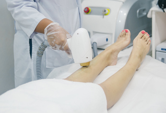 Diode Laser Hair Removal (Small and Medium Areas)