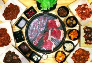Unlimited Samgyupsal with Beef and Side Dishes