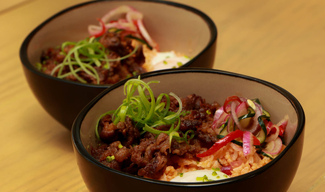Beef Kimchi Bowl