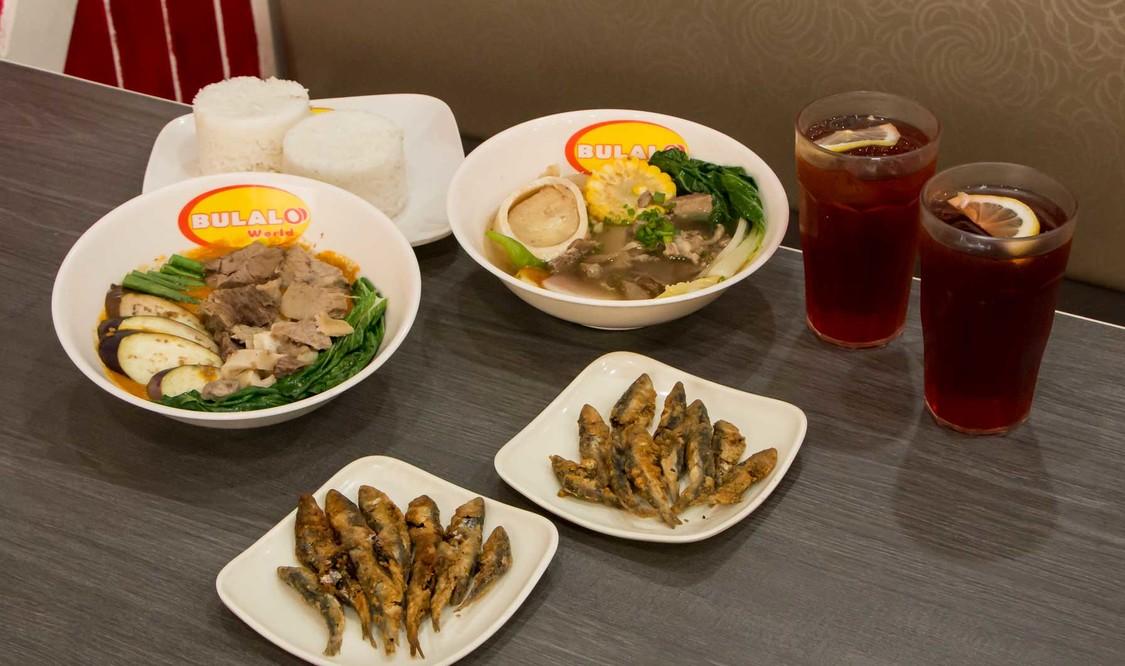 Mix & Match Beef Kare-Kare and Bulalo Sinigang Set Meal