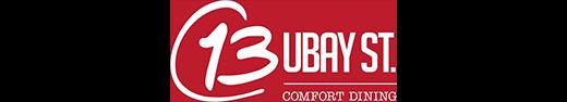 13 Ubay St. Comfort Dining on Booky