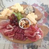 Mixed Platter of Cold Cuts and Cheeses