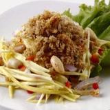 Fried Pampano w/ Green Mango Salad