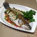 Steamed Seabass w/ Lime