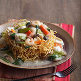 Seafood Crispy Noodles