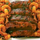 Shrimps and Ribs Platter