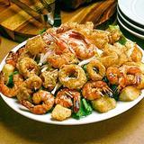 Seafood Caesar Supreme