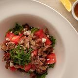 Grilled Lamb & Watermelon Salad