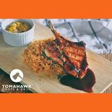 Grilled Tomahawk Chops